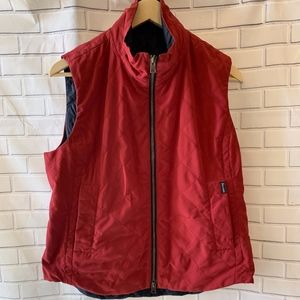 Faconnable Red Light Puffer Vest Size L